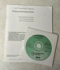 Dell PowerEdge Systems Server Installation Disk Version 2.4 & Information Guide