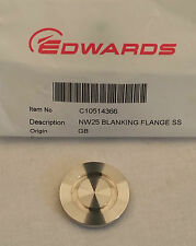 C105-14-366  NW25/KF25 Blanking Flange Stainless Steel