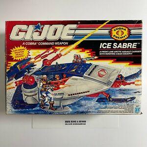 Hasbro G.I.JOE ARAH 1991 Cobra Ice Sabre MIB Sealed Contents