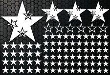 93-teiliges Sterne Star Auto Aufkleber Set Sticker Tuning WANDTATTOO Blumen hibi