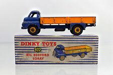 DINKY 922 DIECAST BIG BEDFORD LORRY ROYAL BLUE/ORANGE