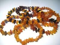 Baltic Amber bracelet for the child 5.5 inch. Choose your  Bracelet Colour.