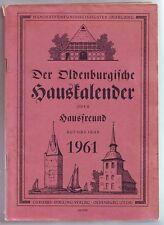 Hauskalender Oldenburg  1961  Stalling Verlag
