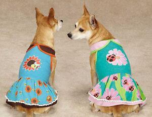 Flutter Bugs Dog Dress Pet Dresses Lady Bug Bumble Bee Zack & Zoey
