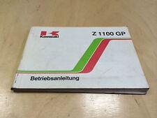 Kawasaki Z 1100 GP Betriebsanleitung / Fahrerhandbuch  (1981)