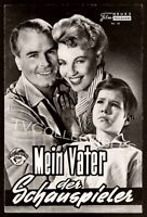 7x9 Movie Program ~Mein Vater Der Schauspieler ~1956 ~Oliver Grimm ~Germany