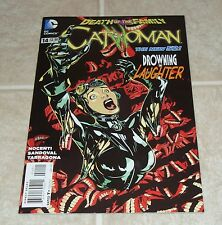 Catwoman #14 1st Print Death of the Family DC New 52 HOT