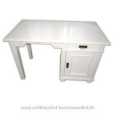 Schreibtisch,Arbeitstisch,Computertisch,Beisteltisch,Holz, weiß, Landhausmöbel
