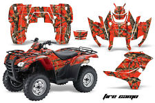 ATV Graphics Kit Decal Sticker Wrap For Honda Rancher AT 2007-2013 FIRECAMO