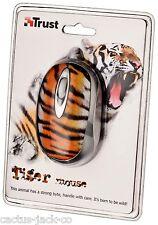 Nuevo 16967 únicas de Vida Silvestre Tigre de confianza Óptico USB Mini Mouse