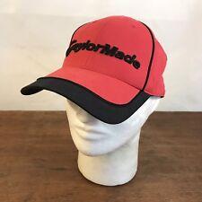 cc1a2df3405 TaylorMade Golf Red Adjustable Baseball Cap Hat