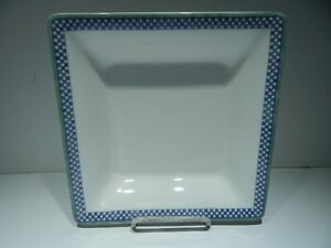 VILLEROY & BOCH SWITCH 3 CASTELL 8 1/2 INCH SQUARE SERVING DISH BOWL - RARE!!!