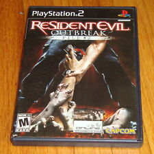 Resident Evil Outbreak File #2 Sony Playstation 2 PS2 Complete