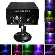 3W RGB LED 2color Laserprojektor Disco Party KTV Club DJ Licht mit Fernbedienung
