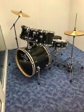 TAMBURO Schlagzeug T5 Serie Master in black sparkle 22/12/13/16+SD+HW+Cymbals