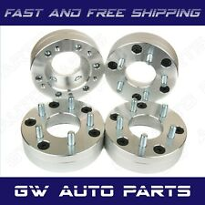 """4 PCs WHEEL SPACER ADAPTERS  2"""" THICK 6X5.5 to 5X4.5 PICKUP TRUCK SUV"""