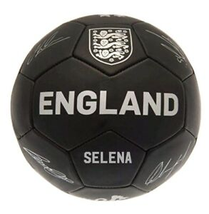 Personalised England Football Ball Personalised Football Gifts Size 5 Euro 2020