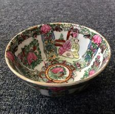 Old China wide color porcelain bowl