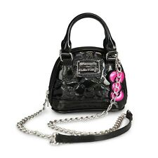 New Loungefly Hello Kitty Black Embossed Micro Dome Handbag #SANTB1225