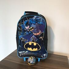 "Batman Childrens Pull Trolley Bag/Suitcase 18"" DC Comics (with Batman Foam Ball)"