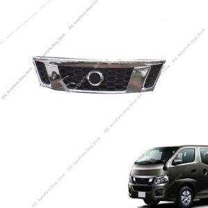 For Nissan Caravan Urvan NV350 E26 OEM Chrome Front Bumper Grille o Vent Grill