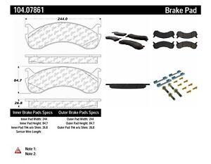 Disc Brake Pad Set Centric 104.07861