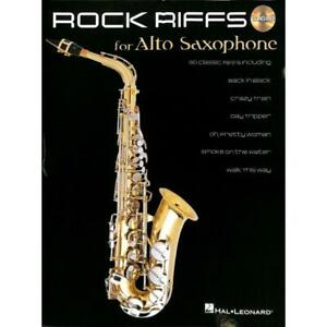 Alt Saxophon Noten - ROCK RIFFS for ALTO SAXOPHONE - CD included