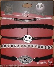 2014 Disney The Nightmare Before Christmas Adjustable Bracelet 5 Pack Free Ship