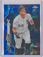 JAMES McCANN 2020 TOPPS CHROME SAPPHIRE REFRACTOR CARD #689 CHICAGO WHITE SOX