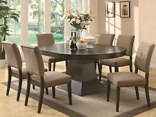 Oval Dining Sets Pieces For Sale EBay - Modern oval dining table with leaf