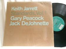KEITH JARRETT Standards Vol 1 Gary Peacock Jack DeJohnette ECM LP