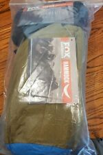 Fox Outfitters Neolite Double Camping Hammock Nylon New w/Straps Blue & Bronze