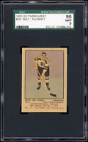 1951-52 Parkhurst #29 Milt Schmidt RC (HOF, Boston Bruins) SGC 96 MINT