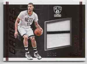 2016-17 Panini Studio Gamers Magenta Brook Lopez Patch 25/30 Brooklyn Nets #28