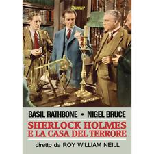 Sherlock Holmes E La Casa Del Terrore  [Dvd Nuovo]