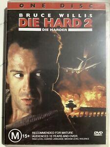 DIE HARD 2 : DIE HARDER - DVD Region 4 - Bruce Willis Franco Nero