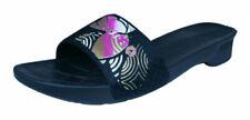 Calzado de mujer sandalias con plataforma negros, talla 40