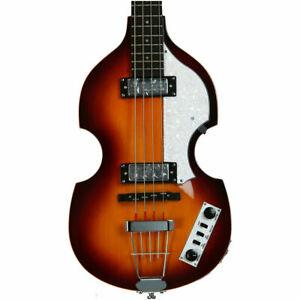 Hofner Ignition Beatle Violin Bass - Sunburst - Hollowbody Electric Bass