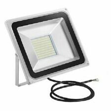 NEW - LED FLOOD LIGHT 100W, 220V PF100W, WHITE - FREEPOST