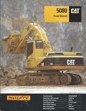 Equipment Brochure - Caterpillar - 5080 - Front Shovel - Mining - 1994 (E5035)