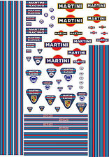WaterSlide Decals Transfers 1:18 Scale RC Model Slotcar Scalextric Sport Sticker