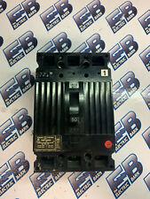 GE TED134050, 50 Amp, 480 Volt, 3 Pole, BLACK, Circuit Breaker- WARRANTY