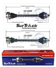 For Audi S4 AWD 2000-2002 A4 FWD 2001 Set of 2 Front CV Axle Shafts SurTrack