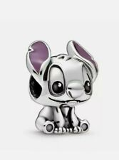 Genuine Pandora Disney Lilo & Stitch Charm S925 ALE Sterling Silver 798844C01