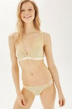 Topshop Triangle Bra by Mimi Holliday Nude Size UK XS 4-6 rrp £33 DH181 BB 04
