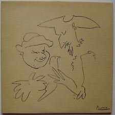 PICASSO PABLO SERIGRAPHIE 1959 SIGNÉ SIGNED SILKSCREEN POCHETTE VINYLE RECORD