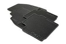 2013-2018 Cadillac XTS GM Premium All Weather Black Floor Mats 22757756 OEM NEW