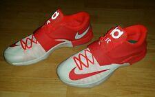Men's Nike Big & Tall  KD 7 VII Egg Nog Christmas Kevin Durant Shoes 17