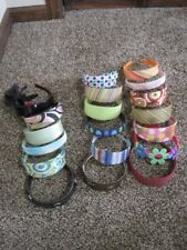 Lot of 20 headbands thick fabric Gymboree girls