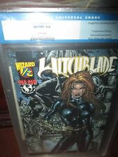 Witchblade #1/2 CGC 9.8 Wizard Mail-Away Cat suit Exclusive 1st Strauss